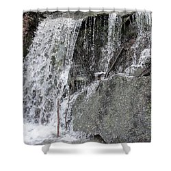 Shower Curtain featuring the photograph Let It Flow by Tiffany Erdman