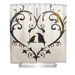 Let Me Count The Ways Shower Curtain by Dolores  Deal