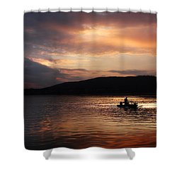 Let's Call It A Day Shower Curtain by Lori Deiter
