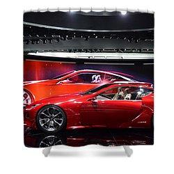 Lexus Lf-lc Shower Curtain