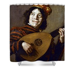 Leyster: The Jester Shower Curtain by Granger