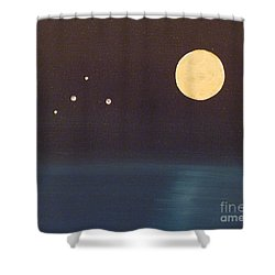 Libra Shower Curtain by Alys Caviness-Gober