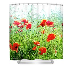 Shower Curtain featuring the photograph Libres by Alfonso Garcia