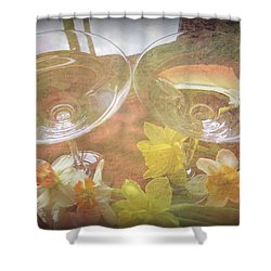Shower Curtain featuring the photograph Life's Simple Pleasures by Kay Novy