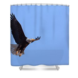 Shower Curtain featuring the photograph Lift by Jim Garrison