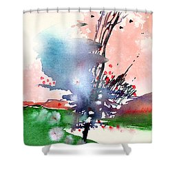 Light 2 Shower Curtain by Anil Nene