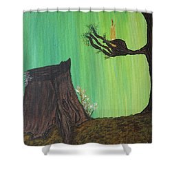 Light A Candle For Me Shower Curtain