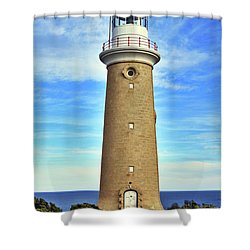 Light House At Cape Du Couedic Shower Curtain