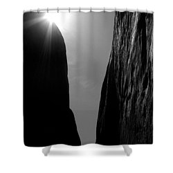 Shower Curtain featuring the photograph Light Of Day by Vicki Pelham