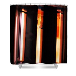 Shower Curtain featuring the photograph Light Reflections by Colette V Hera  Guggenheim