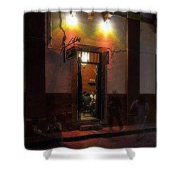 Like Moths To A Flame Shower Curtain by Lynn Palmer