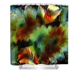 Like Stained Glass Shower Curtain