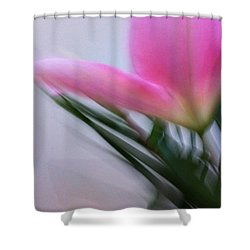 Lily In Motion Shower Curtain