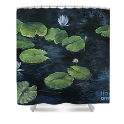Lilypond Shower Curtain