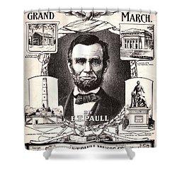 Lincoln Centennial, C1909 Shower Curtain by Granger