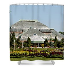 Lincoln Park Zoo In Chicago Shower Curtain