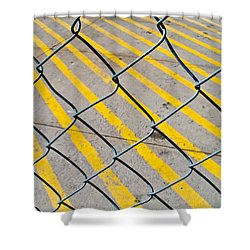 Shower Curtain featuring the photograph Lines by David Pantuso