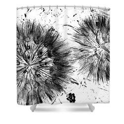Lion Dance  Shower Curtain by Jerry Cordeiro