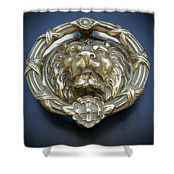 Lions Gate Shower Curtain by Jean Haynes