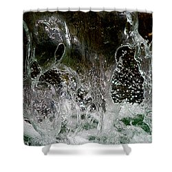 Liquid Art Shower Curtain