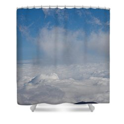 Listen To The Universe Shower Curtain by Ralf Kaiser