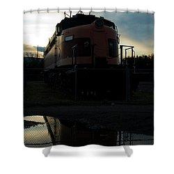 Littel Joe Reflections Shower Curtain by Tim Mulina