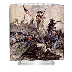 Little Bighorn, 1876 Shower Curtain by Granger