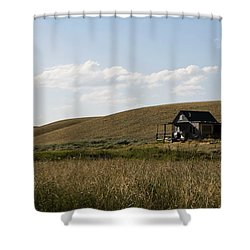 Little House On The Plains Shower Curtain