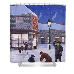Little Rascals Shower Curtain by Peter Szumowski