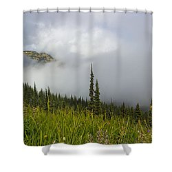 Little Slice Of Heaven Shower Curtain by Heidi Smith