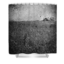 Little Songs And Skies  Shower Curtain by Jerry Cordeiro