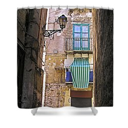 Little Street Of Palermo Shower Curtain