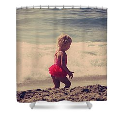 Little Tutu Shower Curtain by Laurie Search