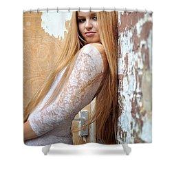 Liuda11 Shower Curtain by Yhun Suarez