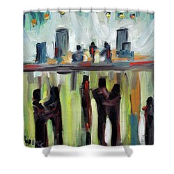 Live Show By Prankearts Shower Curtain by Richard T Pranke