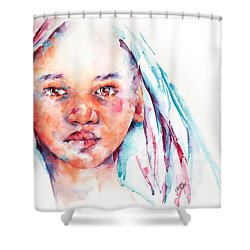 Live To Dream ... Children Of The World Shower Curtain by Stephie Butler