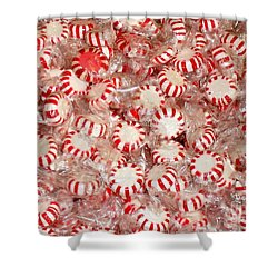 Fun  Mints Shower Curtain
