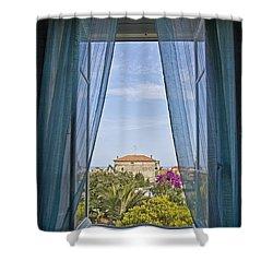 Loano Shower Curtain by Joana Kruse