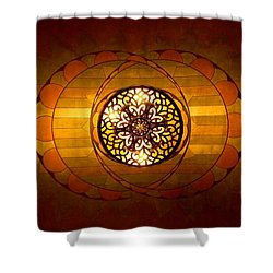 Lobby Lighting Shower Curtain by Accent on Photography