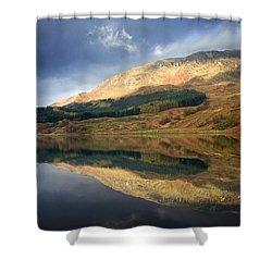 Loch Lobhair, Scotland Shower Curtain