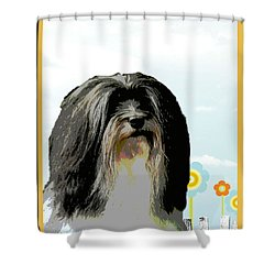 Lochen Shower Curtain by One Rude Dawg Orcutt