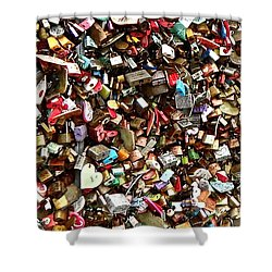 Locks Of Love Shower Curtain by Kume Bryant