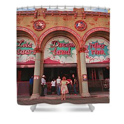 Lola Starr Dreamland Shower Curtain by Mark Gilman