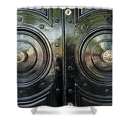 London Brass Shower Curtain