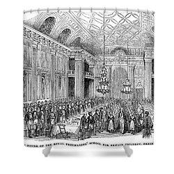 London: Freemasons Hall Shower Curtain by Granger