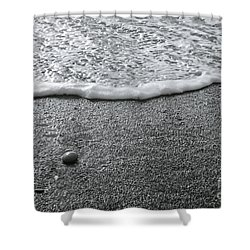 Lonely Pebble Shower Curtain