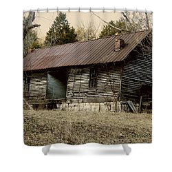 Long Ago Shower Curtain by EricaMaxine  Price