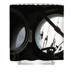 Looking Oceanside Shower Curtain