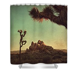 Looming Shower Curtain by Laurie Search