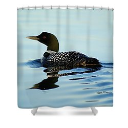 Loon Shower Curtain
